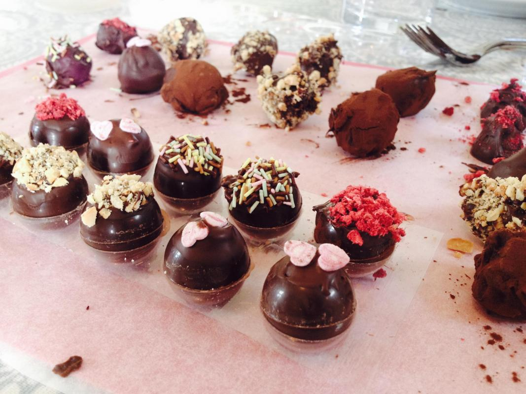 Made with real belgian chocolate this fun chocolate animals make -  Learn To Make Chocolates And Truffles With Suzanne Coles Of Kokoblas Chocolates At Kate Humble S Farm