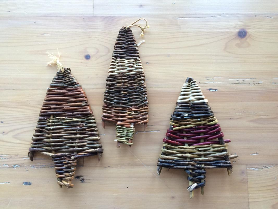 ... Make Willow Christmas Decorations at Humble by Nature Kate Humble's  farm in Monmouth ...