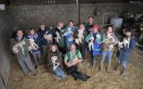 Lambing course group at Kate Humble's Farm Humble by Nature
