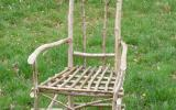 Learn how to make a green wood chair at Kate Humble's farm Humble by Nature in Monmouth South Wales