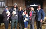 Learn how to lamb pregnant ewes on the 24 hour lambing course at Kate Humble's Farm Humble by Nature in Monmouth, South Wales