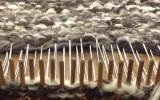 Learn to make things with wool Peg Loom Weave at Humble by Nature, Kate Humble's Working Farm in Monmouthshire