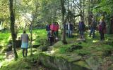 Learn Wild Food Foraging with Liz Knight of Forage Fine Foods at Kate Humble's farm Humble by Nature in Monmouth South Wales
