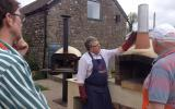 Learn to cook on a wood-fired oven with David Jones Manna from Devon at Humble by Nature, Kate Humble's Working Farm