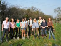 Tree Planting Course at Kate Humble's Farm Humble by Nature in S Wales