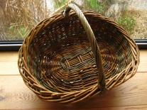 Learn to weave willow Make a Willow Garden Trug or flower Basket with Amanda Rayner of Wyldwood Willow to Kate Humble's farm Humble by Nature in Monmouth South Wales