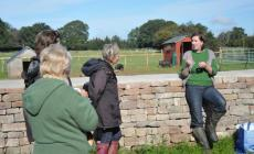 Food Foraging and Preparation in Spring at Kate Humble's Farm Humble by Nature