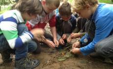 Learn how to make survival cord with bushcraft skills courses for kids at Humble by Nature, Kate Humble's rural skills Farm in Monmouthshire
