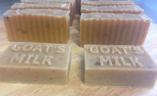 Learn to make cold-pressed soap, beeswax lip balms and lotion bars with Catherine Clark of Honey Bee Beautiful at Kate Humble's farm Humble by Nature in Monmouth S Wales