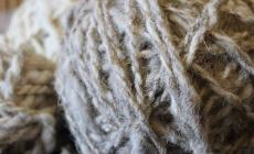 Learn how to plant dye yarn at Humble by Nature Kate Humble's farm in Monmouth South Wales