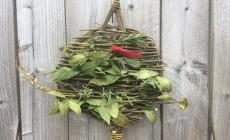 Weave a Willow Herb Spiral