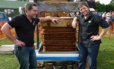 Learn how to make cider with James McCrindle of McCrindle's Cider  at Kate Humble's farm Humble by Nature in Monmouth