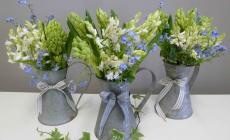 Learn to make beautiful flower arrangements for your home at Humble by Nature, Kate Humble's working farm in Monmouthshire