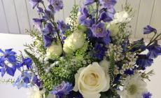 Learn to make a hand-tied bouquet and vase arrangement with Catherine Gray Flowers at Kate Humble's farm Humble by Nature