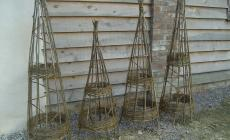 Make Willow Pea Frames and Garden Hurdles course at Humble by Nature