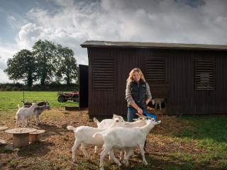 Lizzie Dyer is teaching Goats for Beginners at Humble by Nature