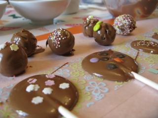 Chocolate Easter Egg making course for kids and children at Kate Humble's farm Humble by Nature in Monmouth South Wales
