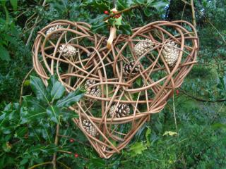 Make Willow Christmas Decorations at Humble by Nature Kate Humble's farm in Monmouth