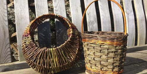 Weave a contemporary willow handbag