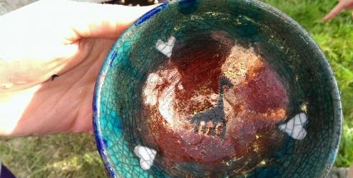 Raku pottery at Humble by Nature