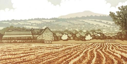 Learn Lino Printing at Kate Humble's Farm in Monmouthshire, Humble by Nature