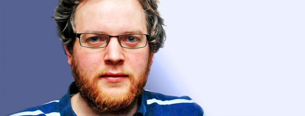 Miles Jupp will be at the Big Day Out Comedy Night at Humble by Nature Kate Humble's farm