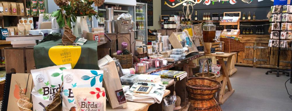 Pick up locally produced presents in the Humble by Nature Farm Shop this Christmas, Kate Humble's working farm in Monmouthshire