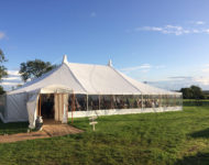 Marquee for weddings at Humble by Nature