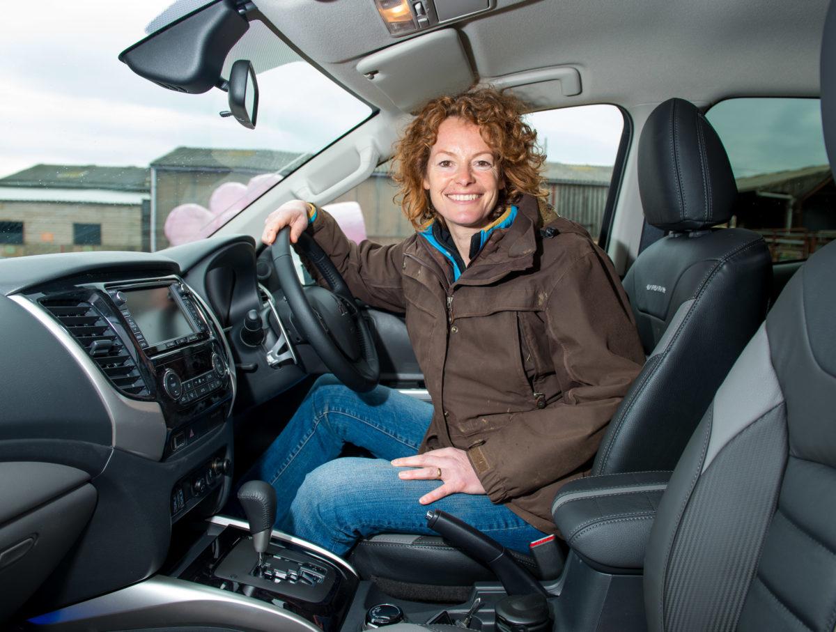 Kate Humble In Mitsubishi