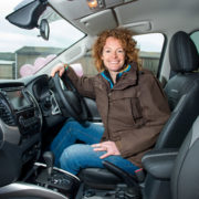 Kate Humble In Mitsubishi