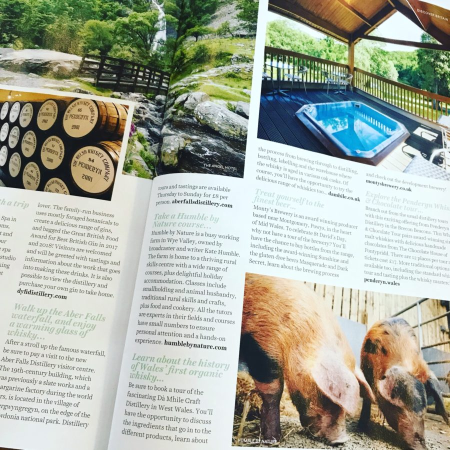 Great British Magazine Food Wales Feature