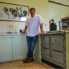 Matt Tebbutt by the Esse 990EL at Humble by Nature