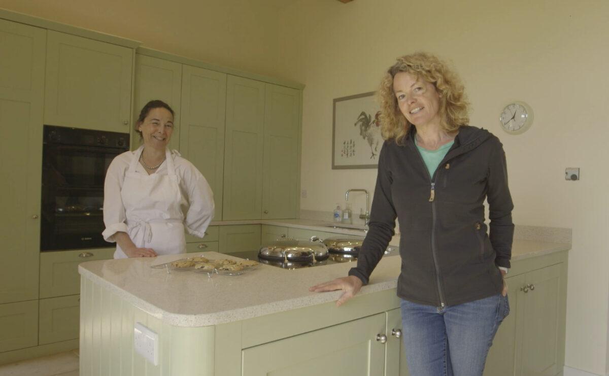 Kate Humble and Jennifer Burgos Dough & Daughters