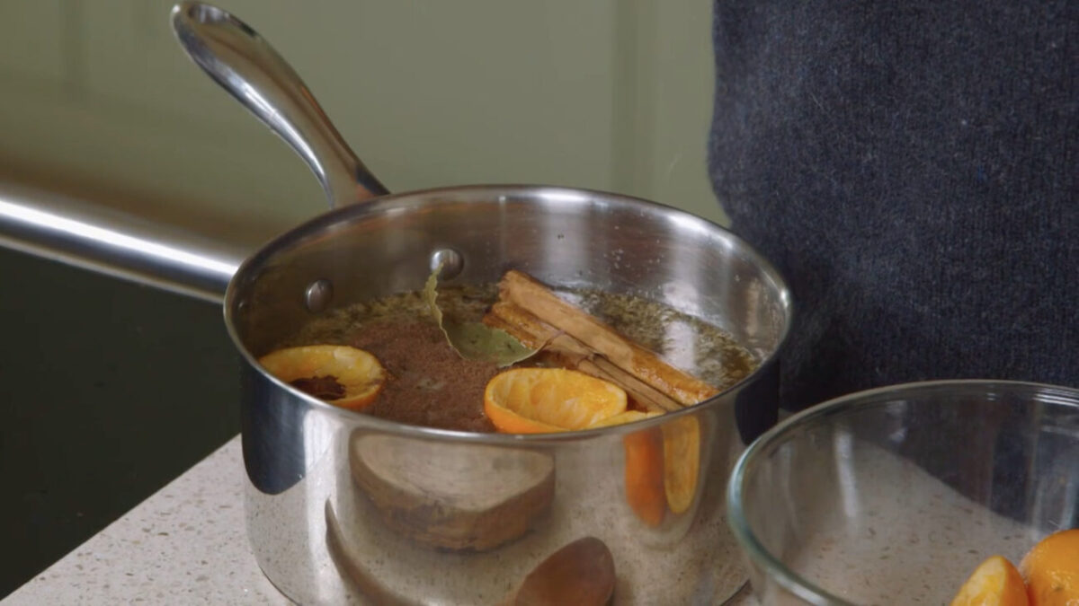 mulled cider recipe kate humble escape to the farm